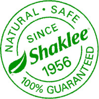 Shaklee; since 1956. Natural, safe, 100% guaranteed