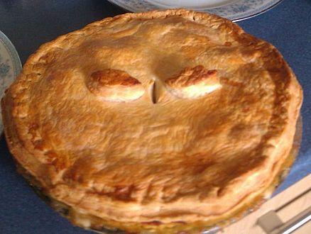 Turkey Vegetable Pie. Yum, Comfort Food!