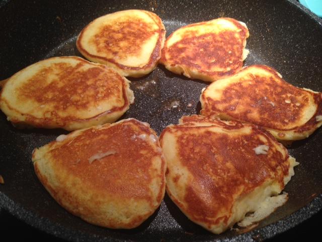 Yogurt Pancakes!