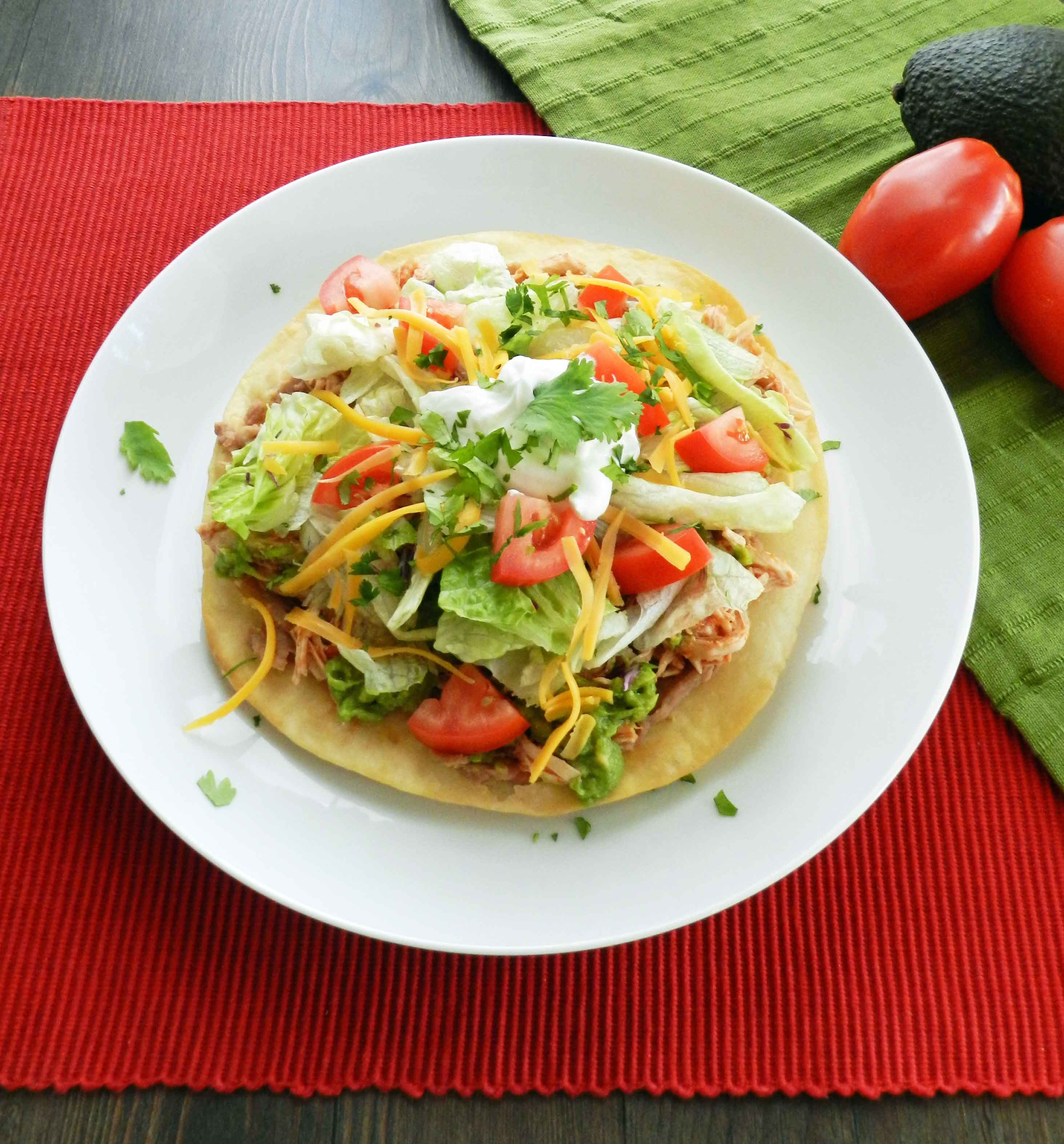 Delicious Chicken Tostados – A Great Weeknight Meal